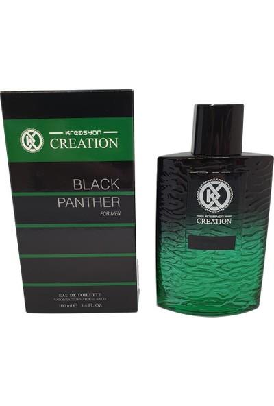 Kreasyon Black Panter (Iesint) Edc 100 ml Erkek Parfüm Yeni Seri