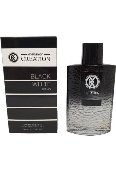 Kreasyon Black White (Arma Black) Edc 100 ml Erkek Parfüm Yeni Seri