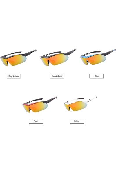 Buyfun Polarize Bisiklet Anti-Rüzgar Güneş Gözlüğü