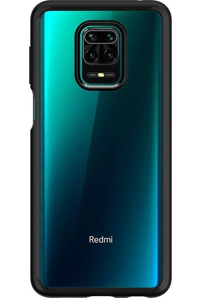 Spigen Xiaomi Redmi Note 9S / Note 9 Pro Max / Note 9 Pro Kılıf Ultra Hybrid Matte Black - ACS01191