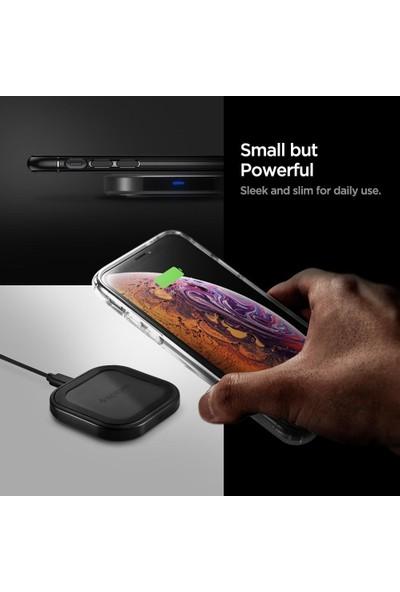 Spigen SteadiBoost F309W Compact Wireless Hızlı Kablosuz Şarj Cihazı 10W USB-C Çıkışlı (QI Sertifikalı Tüm Cihazlar ile Uyumlu) - 000CH26041