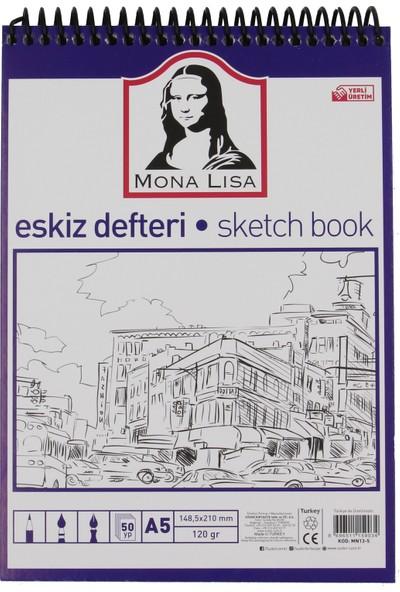 Mona Lisa Eskiz Defteri A5 120 Gram 50 Yaprak