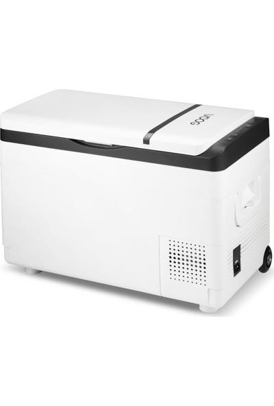 Voog Lps-12-01 Kompresörlü Oto Buzdolabı 30 lt