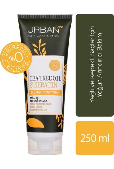 URBAN Care Tea Tree Oil & Keratin Saç Bakım Şampuanı 250 ml