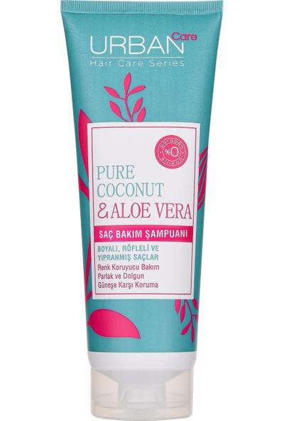 URBAN Care Pure Coconut & Aloe Vera Saç Bakım Şampuanı 250 ml