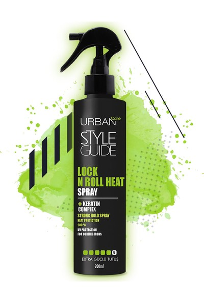 URBAN Care Style Guide Lock N Roll Heat Spray 200 ml
