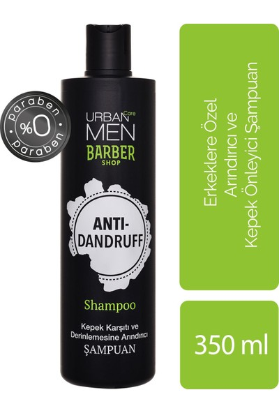 Urban Care Erkeklere Özel Arındırıcı ve Kepek Önleyici Şampuan 350 ml