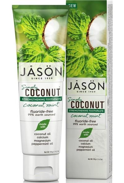 Jasön Simply Coconut Mint Diş Macunu 119 gr