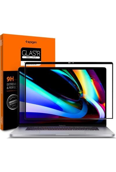 """Spigen Macbook Pro 16"""" (2019-2020) ile Uyumlu Cam Ekran Koruyucu - AGL00673"""