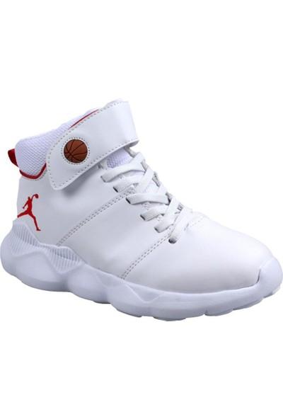 Cool 19-K31 Erkek Çocuk Beyaz Basketbol Ayakkabı