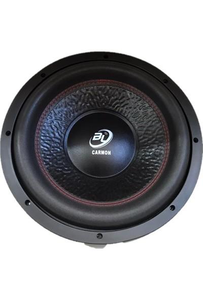 Carmon Bl Ts 3.00BX 1400WAT 450 Rms Oto Bass Subwoofer 30 cm Yuksek Bass