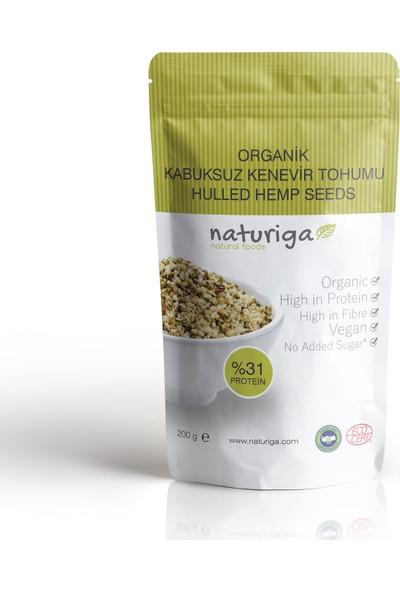 Naturiga Organik Kabuksuz Kenevir Tohumu