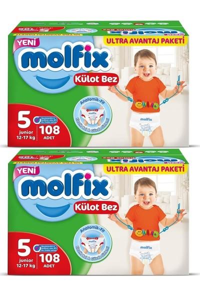 Molfix Külot Bez 5 Beden 12-17 kg 108'LI x 2 : 216'LI