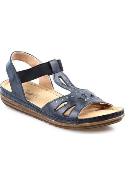 Carla Verde 1407.50 Siyah Kadın Sandalet