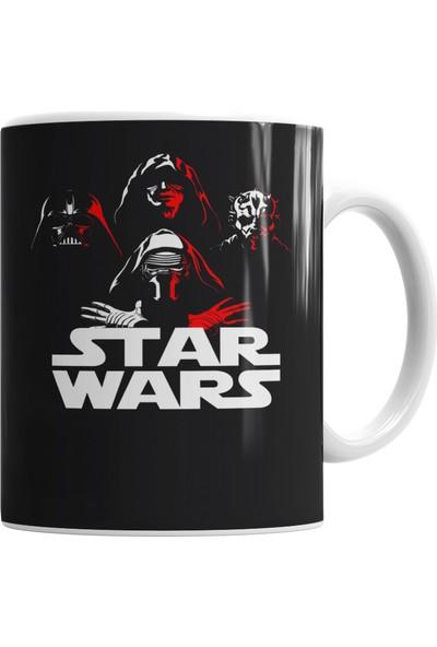 Baskı Dükkanı Star Wars Kupa Bardak Porselen