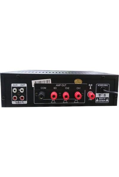 Stı Az-40 2X80W Trafo-Bluetooh-Radyo-Usb-Çift Çıkış Anfi