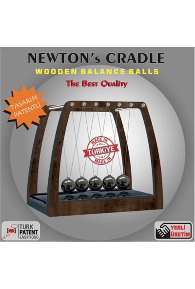 Ayt Newton Denge Topu Masa Üstü Stres Topu
