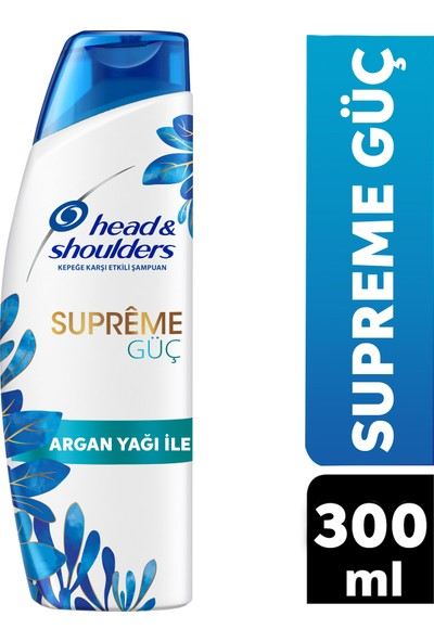 Head & Shoulders Supreme Şampuan Güç 300 ml