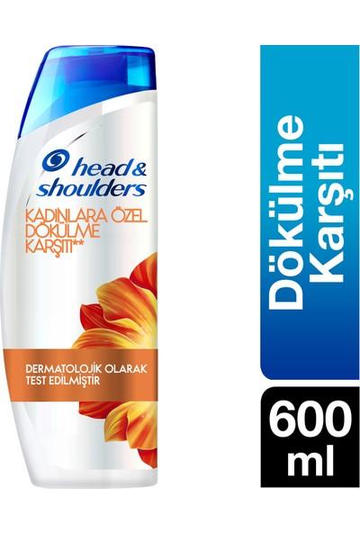 Head & Shoulders Şampuan Kadınlara Özel Saç Dökülmelerine Karşı 600 ml