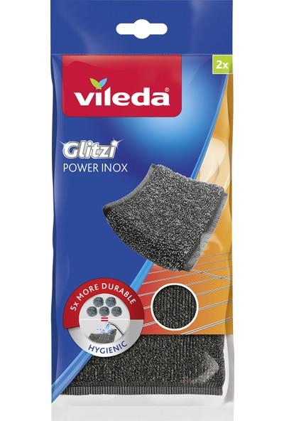Vileda Glitzi Power Pad Inox 2'li Paket