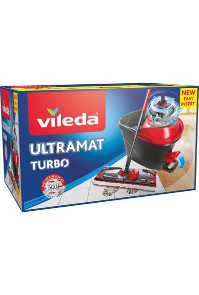 Vileda Ultramat Turbo 2in1 Temizlik Seti