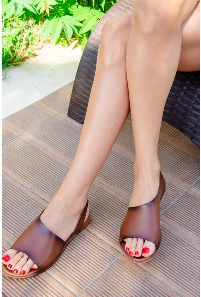 Fox Shoes Taba Kadın Sandalet H306407509