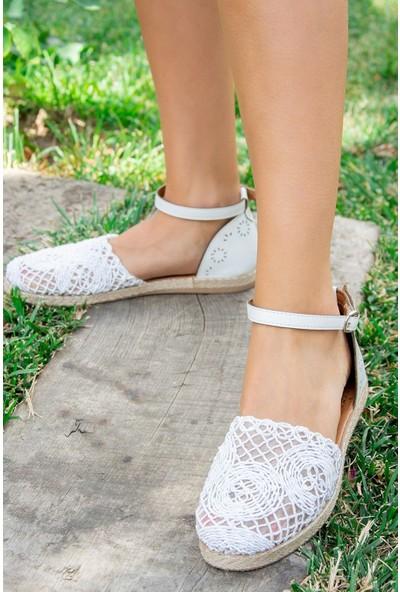 Fox Shoes Beyaz Kadın Ayakkabı H306517004