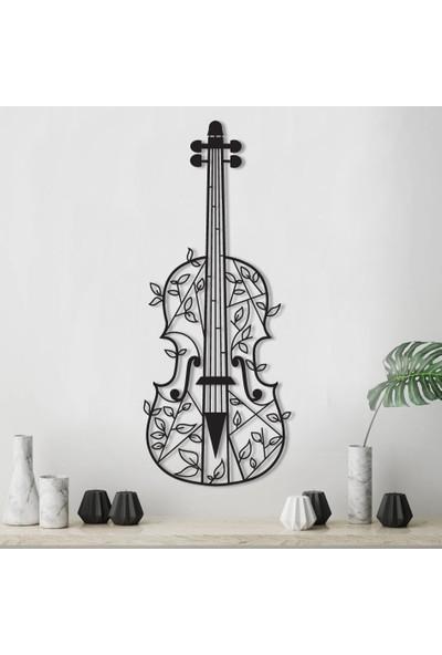 Trigou Violin Metal Tablo 49 x 66 cm