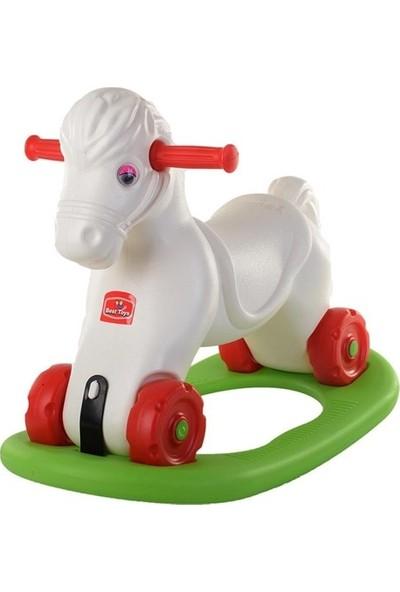 Best Oyuncak Sallanan Tekerlekli At