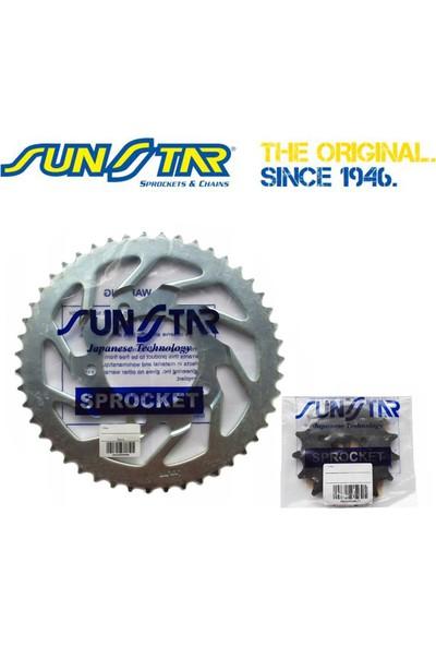 Sunstar Motosiklet Zincir Dişli Seti (Yamaha Yzf R25 / Abs (2013-2020) - Did O-Ring Zincir