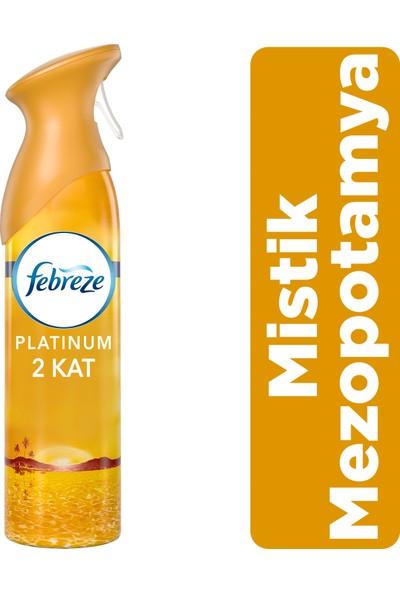 Febreze Platinum Hava Ferahlatıcı Sprey 300 ml Oda Kokusu Mistik Mezopotamya