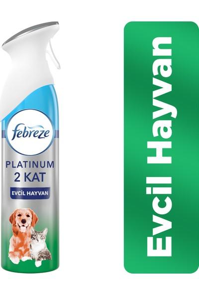 Febreze Platinum Hava Ferahlatıcı Sprey 300 ml Oda Kokusu Evcil Hayvan