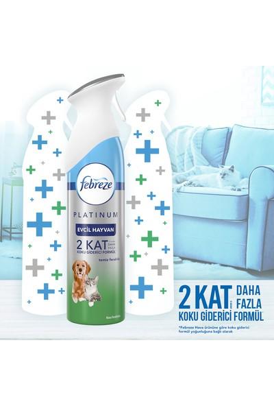 Febreze Platinum Hava Ferahlatıcı Sprey Oda Kokusu Evcil Hayvan 6x300 ml