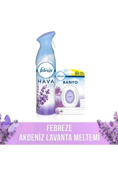 Febreze Akdeniz Lavanta Meltemi (Aerosol 300 ml + Banyo)