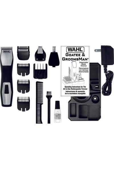 Wahl Groomsman Pro Saç, Sakal, Bıyık Düzeltme Ve Şekil Verme Makinesi- Şarjlı 9855-1216