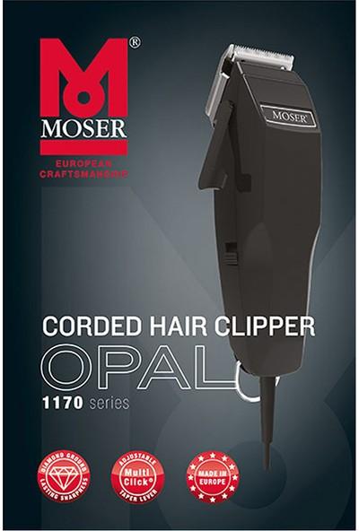 Wahl Moser Opal Pro Siyah Saç Kesme Makinesi