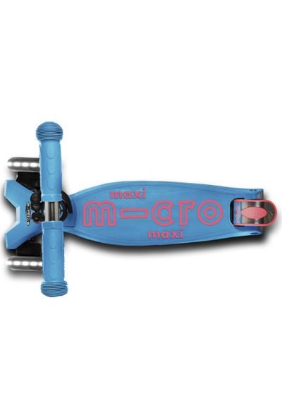 Maxı Mıcro Deluxe Aqua Led MCR.MMD078 Aqua Micro Scooter