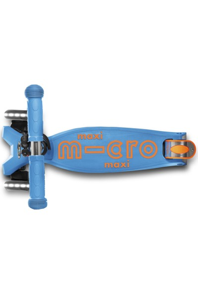 Maxı Mıcro Deluxe Carıbbean Blue Led MCR.MMD085 Caribbean Blue Micro Scooter