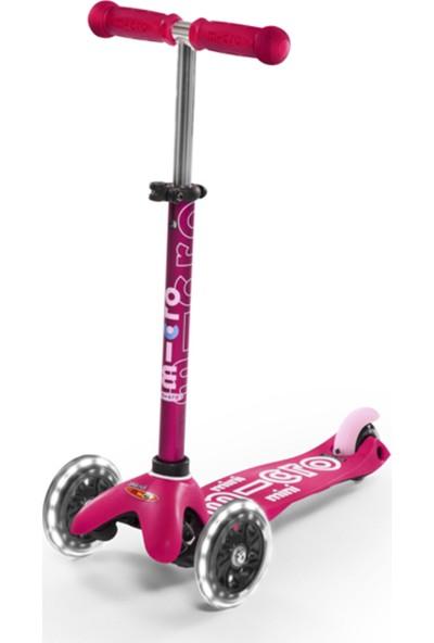 Mını Mıcro Deluxe Pınk Led MCR.MMD075 Pink Micro Scooter