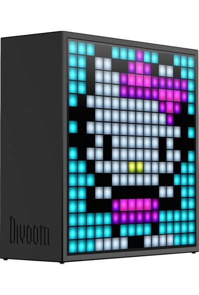 Divoom Timebox Bluetooth Hoparlör - Evo Siyah