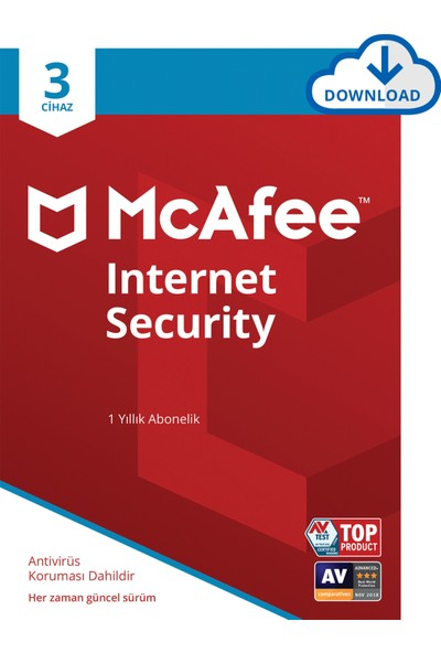 McAfee Internet Security 03 Cihaz Windows, MacOS, iOS ve Android
