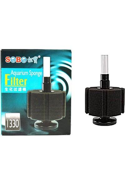 Sobo SB-1330 Biyolojik Süngerli Filtre