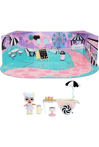 Giochi Preziosi Bebek ve Mobilya Oyun Seti Dondurma Arabası Ice Cream Pop-Up LLUC4000