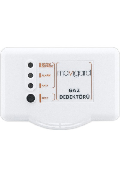 Mavigard GD2R-220EC Karbonmonksit Gaz Dedektörü (Co), 230V Ac
