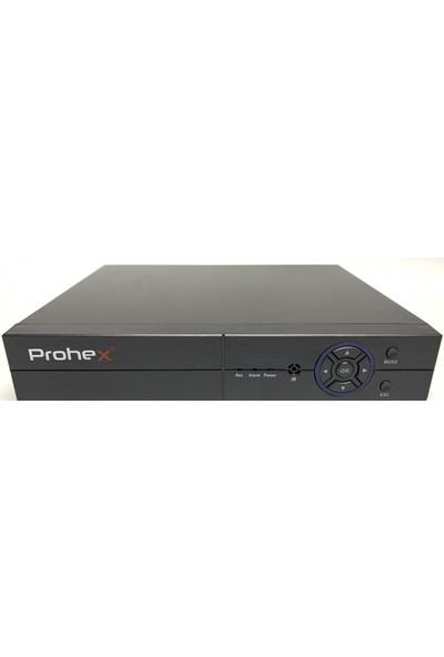 Prohex 4 Kanal Ahd Hibrit Dvr 2 Mp 1080 P H265 Kayıt Cihazı