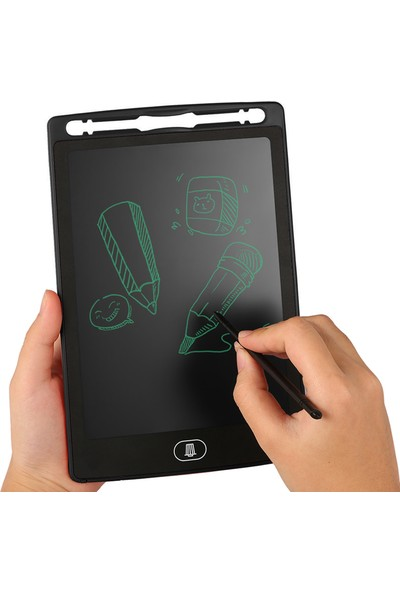 JB Grafik Digital Çocuk Yazı Çizim Tableti LCD 8.5 Inc Ekranlı + Bilgisayar Kalemli