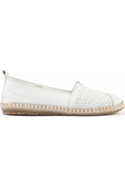 Libero Fms251 Bayan Babet Ayakkabı Beyaz