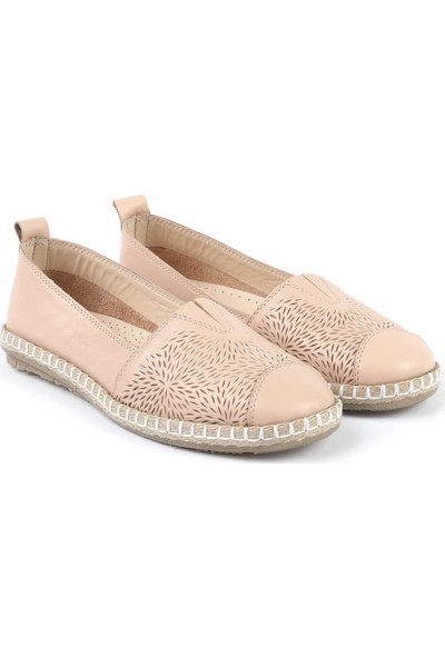 Libero Fms251 Bayan Babet Ayakkabı Pudra
