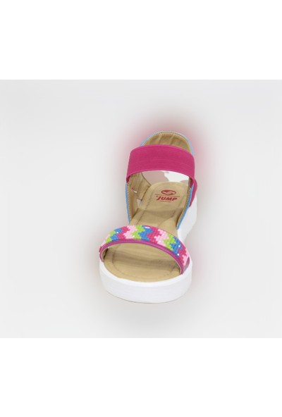 Jump 19495-B Fuşya Kız Çocuk Sandalet