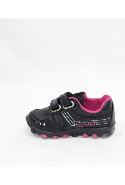 Faculty Siyah Pembe Bebe Spor Ayakkabı